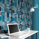 Rasch Kids Club Alphabet Blue Wallpaper 150gsm_A_WP-1