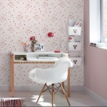 Rasch Kids Club Japanese Flower and Butterfly Pink Wallpaper 150gsm_A_WP-1