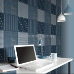 Rasch Kids Club Patchwork Blue Wallpaper 150gsm_A_WP-1