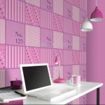 Rasch Kids Club Patchwork Pink Wallpaper 150gsm_A_WP-1