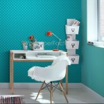 Rasch Kids Club Polka Dot Blue Wallpaper 150gsm_A_WP-1