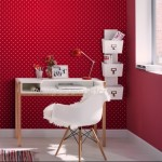 Rasch Kids Club Polka Dot Red Wallpaper 150gsm_A_WP-1